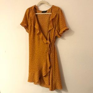 Forever 21 wrap dress size 3X